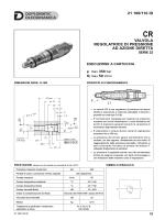 21 100/110 id valvola regolatrice di pressione ad azione diretta