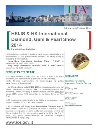 circolare HK 2014 - Camere di Commercio