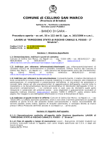 Bando - Comune di Cellino San Marco