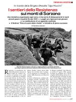 """""""Ugo Muccini"""". I sentieri della Resistenza sui monti di Sarzana"""