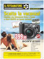 Acquista una fotocamera Sony o Canon e ricevi
