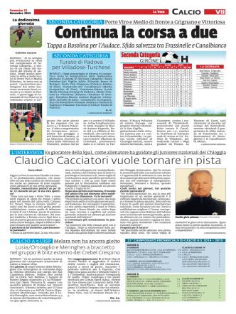 Claudio Cacciatori vuole tornare in pista