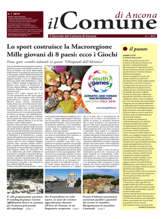 1-2014 GIORNALE COMUNE DI ANCONA