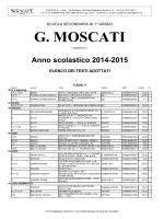 Scuola media G. Moscati - Roma - Socrate srl