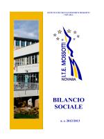 BILANCIO SOCIALE ITE MOSSOTTI_FOSSATI