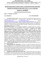 Importo €. 240.000,00 - Ambito Sociale Lucera