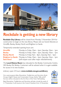Rockdale is getting a new library