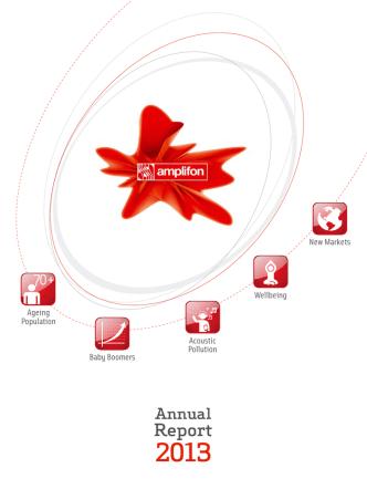 Amplifon Annual Report 2013