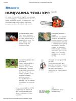 scheda tecnica – HUSQVARNA T536Li XP