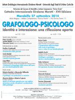 Cattedra Internazionale Girolamo Moretti