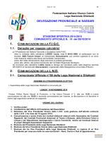 FIGC CU 14 - sgs turritana