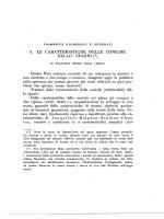 I. LE CARATTERISTICHE DELLE CONICHE NELLO