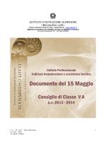 IP Manutenzione e Assistenza tecnica classe VD