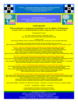 Convegno 27.10.2014 - Locandina - [PDF 272 KB]