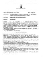 Determinazione n. 201 del 13/08/2014