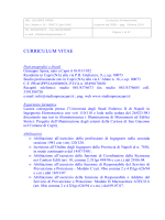 CURRICULUM VITAE ING. GIUSEPPE APREA AGG. OTT.2014
