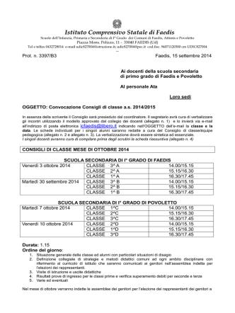 20141105 agg calendario consigli classe 2014_15