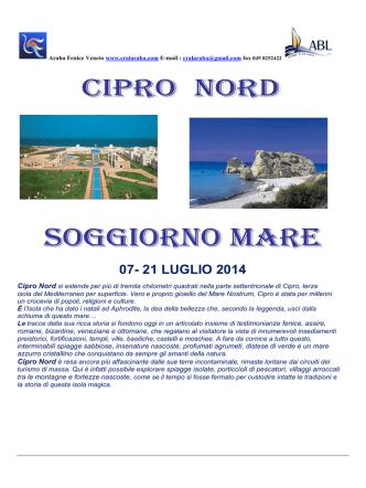 07- 21 LUGLIO 2014 - Cral Araba Fenice