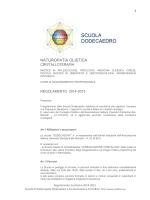 Regolamento scolastico e contributi 2014-2015
