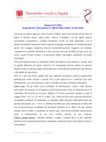 Numero 9°/2014 Esposizione a fitosanitari e effetti sulla salute