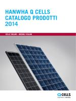 Q CELLS Catalogo dei prodotti 2014 PDF-Download