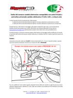 Cambio elettronico - come scegliere sensori ed aste (2014)