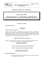 progetto formativo aziendale titolo del corso esercitazioni di als