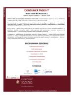 Convegno Neuromarketing - Sapienza