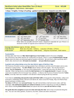 Northern Italy Lakes Road Bike Tour (5 days) Euro