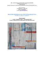 programma - Ordine degli Psicologi della Lombardia