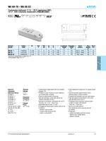 WA 60-70 - WA 60 2C SELV - TCI professional led applications