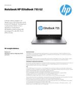 Notebook HP EliteBook 755 G2