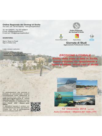 Brochure GdS Erosione Litorale - Mazara del Vallo (TP)
