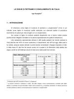 le dighe di pietrame e conglomerato in italia 1 – introduzione