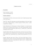 CV biasiori - Istituto Sangalli