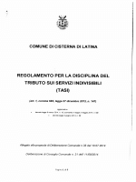 Regolamento - Comune di Cisterna di Latina