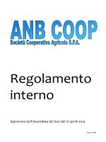 Regolamento ANB Biogas conferimento e assemblea FINALE