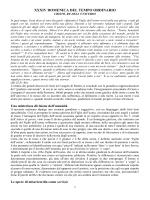 XXXIV DOMENICA DEL TEMPO ORDINARIO
