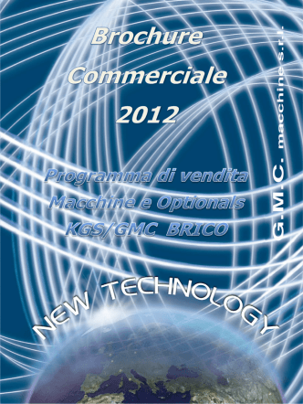 BROCHURE COMMERCIALE 2012 - BRICO ITA