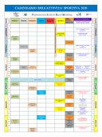 Calendario FISB - Bowling Club ASD Scorpion Milano
