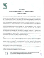 Audizione ARPAC per il fiume Sarno (relazione)