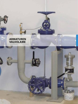 "ARMATUREN VALVOLAME - bei TechnoAlpin ""water solutions"""