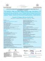 locandina convegno - Comitato Direttivo Statuto Soci Onorari, avv