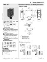 Accessori: Disegno quotato Collegamento elettrico