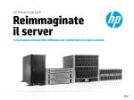 HP ProLiant serie Gen9 Le prestazioni incontrano