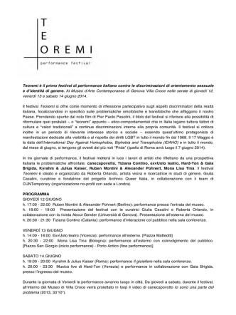 comunicato stampa in pdf