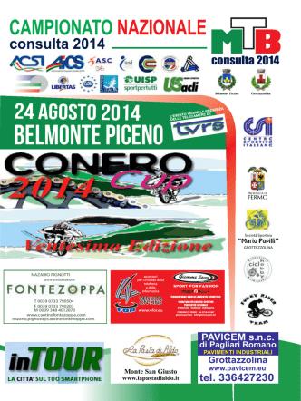 BELMONTE PICENO - Consulta Nazionale Ciclismo
