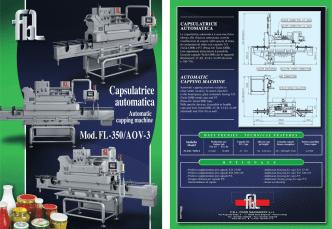Catalogo capsulatrice FL-350 AOV-3