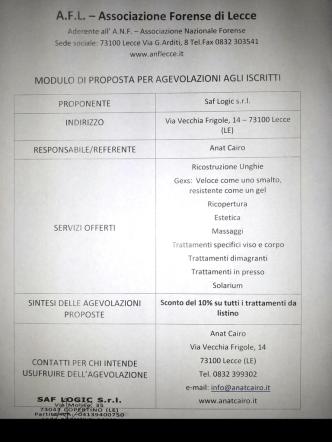 A.F.L. - Associazione Forense di Lecce