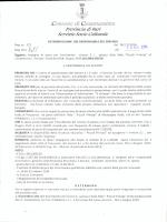 determina n.1695 - Comune di Casamassima